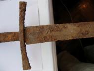 Крестовина меча 14-15 века