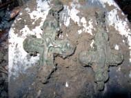 Крест-энколпион, времен Киевской Руси