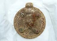 Раннесредневековая золотая привеска