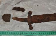 Рукоять аланской сабли, 7 век