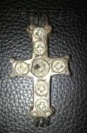 Энколпион, позолота, перегородчатые эмали. 12 век