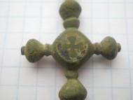 Нательный крест Киевской Руси
