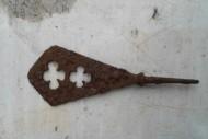 Татаро-монгольский наконечник стрелы с фигурной прорезью