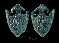 Anglo-Scandinavian / Viking 'Trefoil' Scabbard Chape