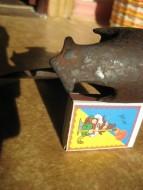 Топор Киевской Руси,  IV типа по А. Кирпичникову 12век, с орнаментом и сквозным отверстием