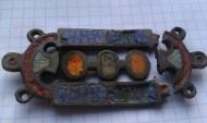 Древнеримская эмалированная накладка