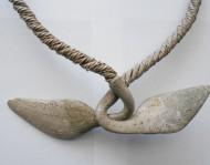 Орнаментированное  утолщенные концы шейной гривны
