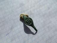 Перстень.Солярный знак (Свастика)