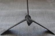 Трёхлопастной шатровый наконечник с бронебойной боеголовкой