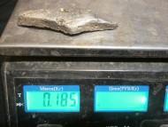 Литая серебряная гривна Киевского типа