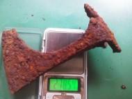 Топорик тип IV по по А. Кирпичникову. 278 грамм