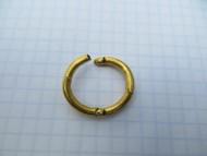 Височное кольцо, медь плакированная золотом