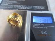 Золотой древнеримский перстень