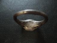 Серебряный перстень 16 век - герб Шелига