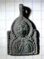 Иконка «Спас» Киевской Руси ХІ-ХІІст арочного типа