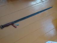 Однолезвийный меч писеральско-андреевской культуры