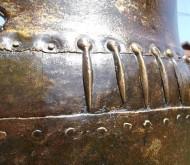 Большой клепаный бронзовый киммерийский котел