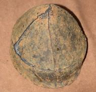 Шлем, инкрустирован золотом с иудейской религиозной символикой
