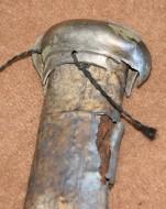 серебряное устье ножен