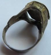 Коробчатый серебряный перстень Киевской Руси