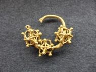 Золотой трехбусенный колт