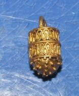 Золотая ароматница-корзинка Черняховской к-ры