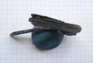 Древнеримская зооморфная ручка от бритвы - медведь