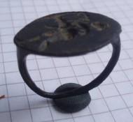 Перстень-печатка Арфист. Др. Греция. 4-3 век до н.э.