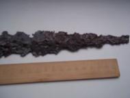 Остатки наконечника копья скифов