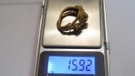 Древнее золотое кольцо, 16 грамм