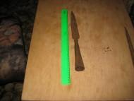 Наконечник копья ланцетовидной формы с шишкой у основания пера
