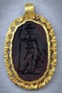 Древнеримская подвеска с с Ареем - богом войны