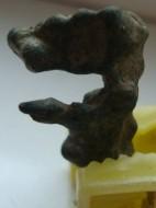 Оплавок античной бронзы в виде идола