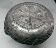 Серебряная тарелочка византийского епископа нач. VII века
