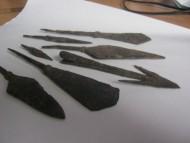 Наконечники стрел, подборка от 8-14 века