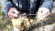 Трелопастной наконечник стрелы времен татаро-монгольского нашествия