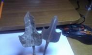 Трёхлопастные наконечники периода расцвета Золотой Орды