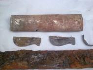 Серебряный прибор ножен палаша