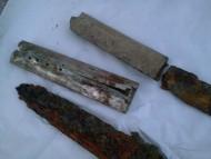 Палаши с серебряным прибором ножен, 650-670 гг.