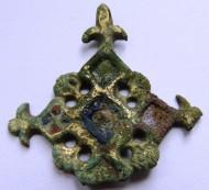 Навершение заколки КР 11-12 век