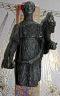 Бронзовая статуэтка богини Фортуны