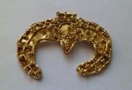 Золотая лунница Черняховской культуры
