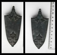 Бронзовый наконечник ножен тип III по Я. Петерсону