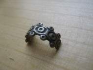 Половинка серебряного кольца Киевской Руси