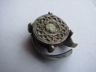 Перстень с филигранью 14 век