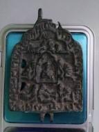 Створка складня «Святитель Николай Чудотворец и Семь Спящих Отроков Эфесских» 15 век