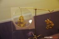 Сарматские золотые серьги
