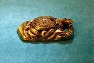 Золотая сарматская лягушка