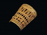 Сарматский золотой ручной браслет