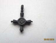 Редкий бронзовый древнерусский крестик